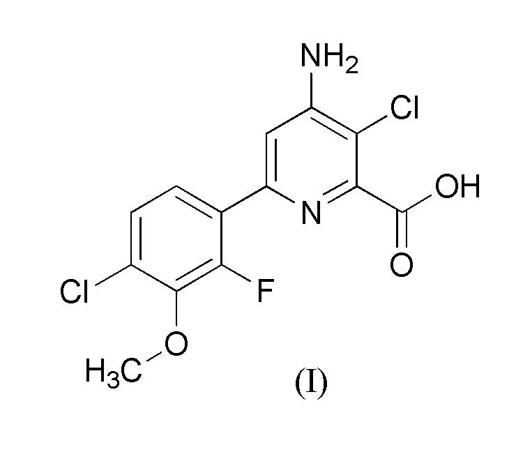 Гербицидная композиция, содержащая 4-амино-3-хлор-6-(4-хлор-2-фтор-3-метоксифенил)пиридин-2-карбоновую кислоту, флуроксипир и феноксиауксины