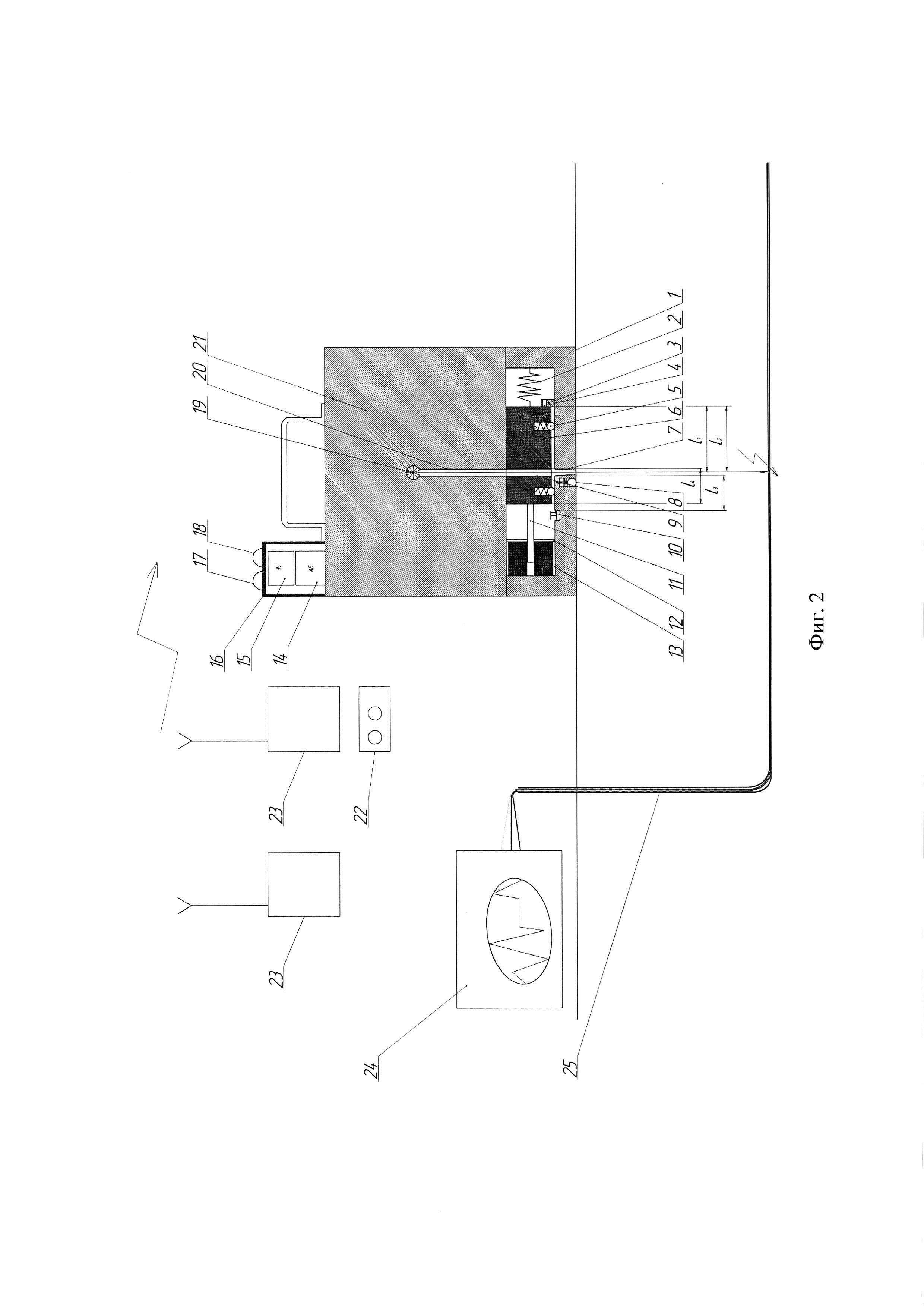 Устройство для определения места повреждения кабеля
