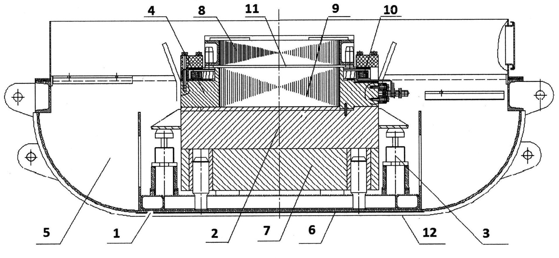 Импульсный невзрывной сейсмоисточник с электромагнитным приводом