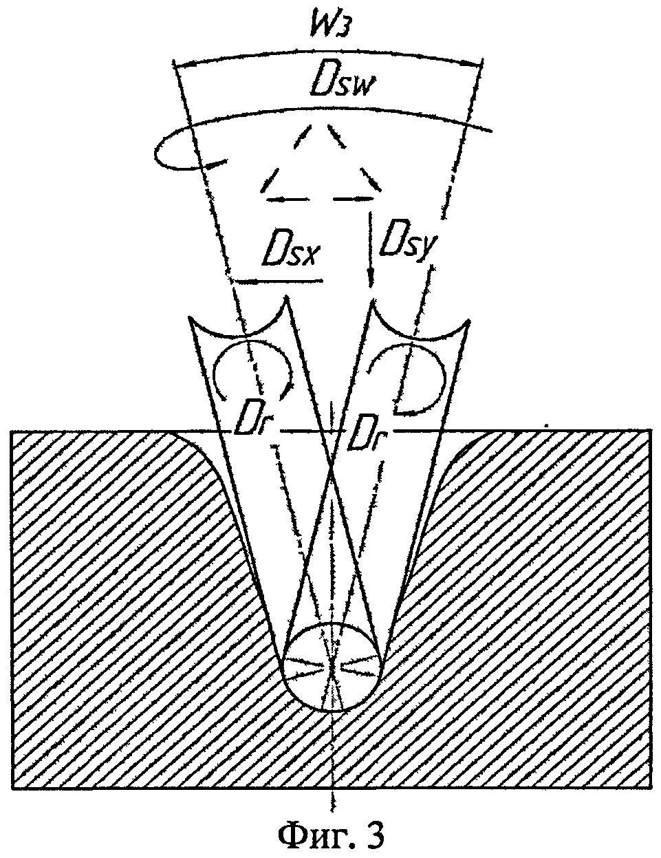 Способ обработки сложных криволинейных поверхностей