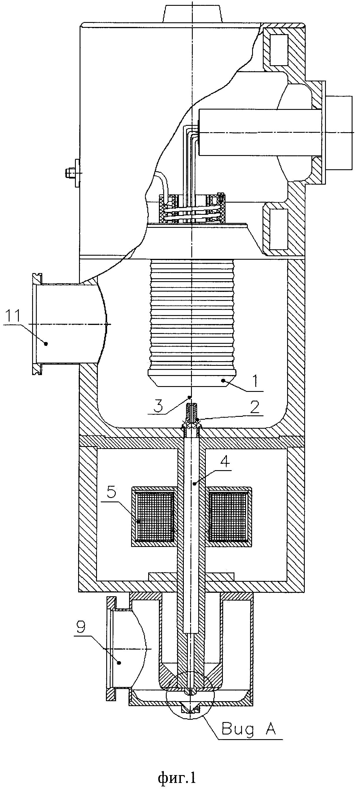 Способ генерации и вывода электронного пучка в область высокого давления газа, до атмосферного