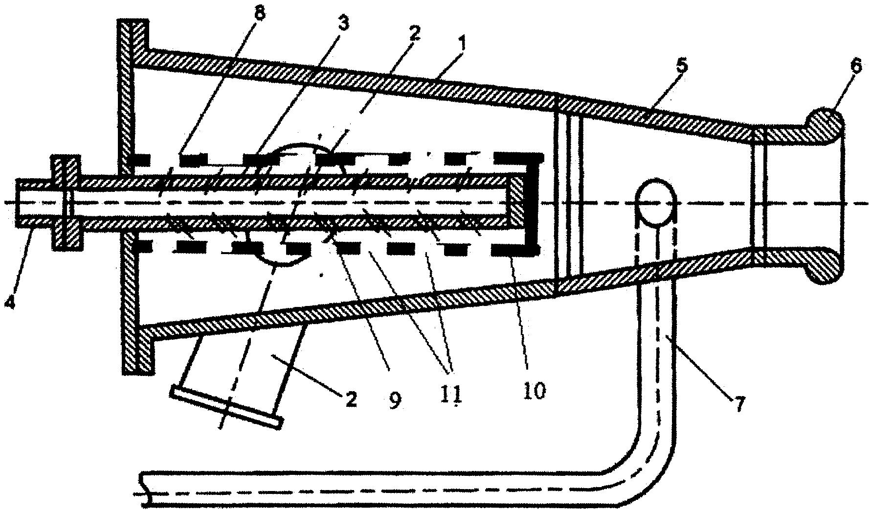 Двухпоточная газовая горелка