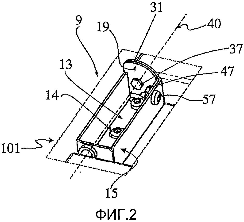 Шарнирный узел для щита распределительного устройства