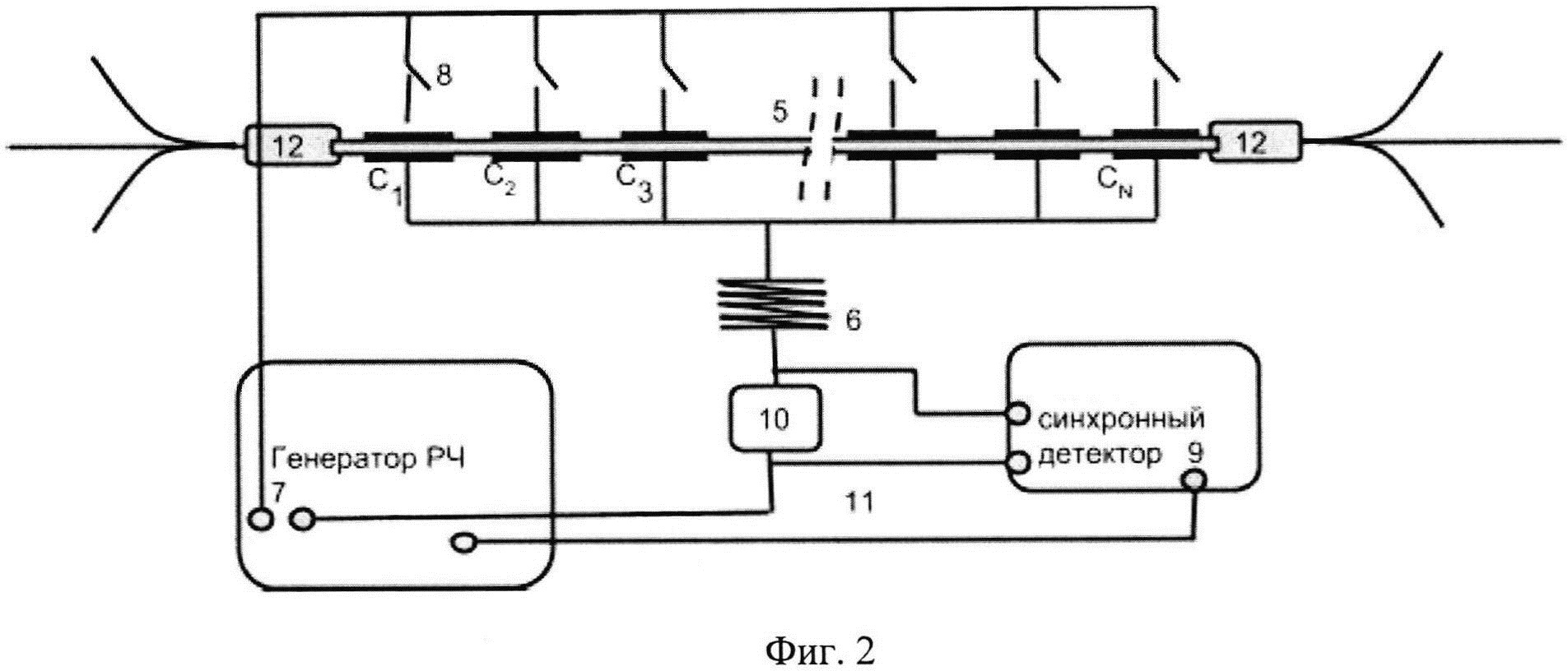 Устройство для измерения продольного распределения температуры в полимерном покрытии активных световодов волоконных лазеров и усилителей