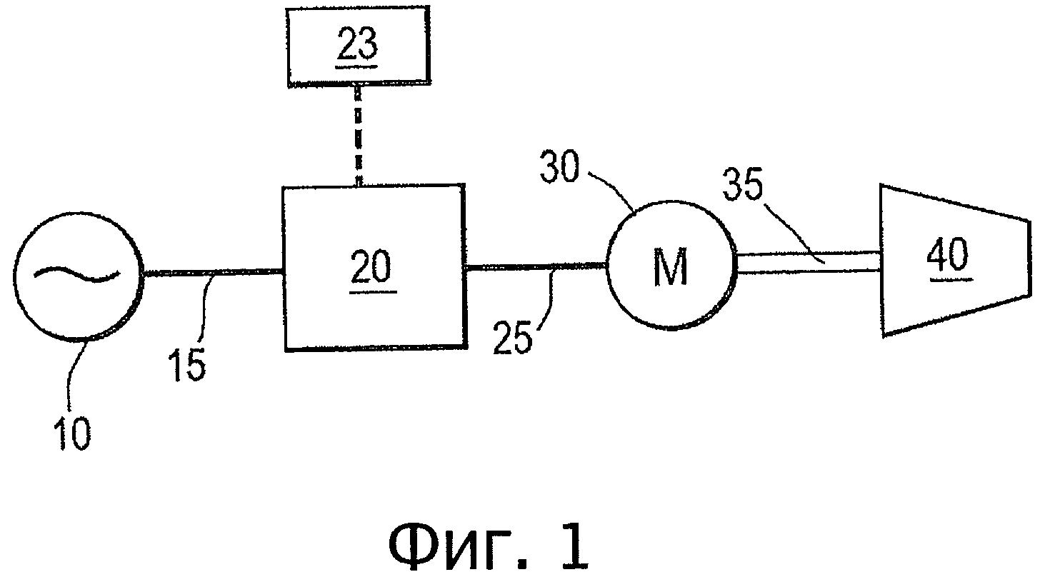 Системы привода с переменной скоростью, способ управления системой привода с переменной скоростью и способ охлаждения потока углеводородов