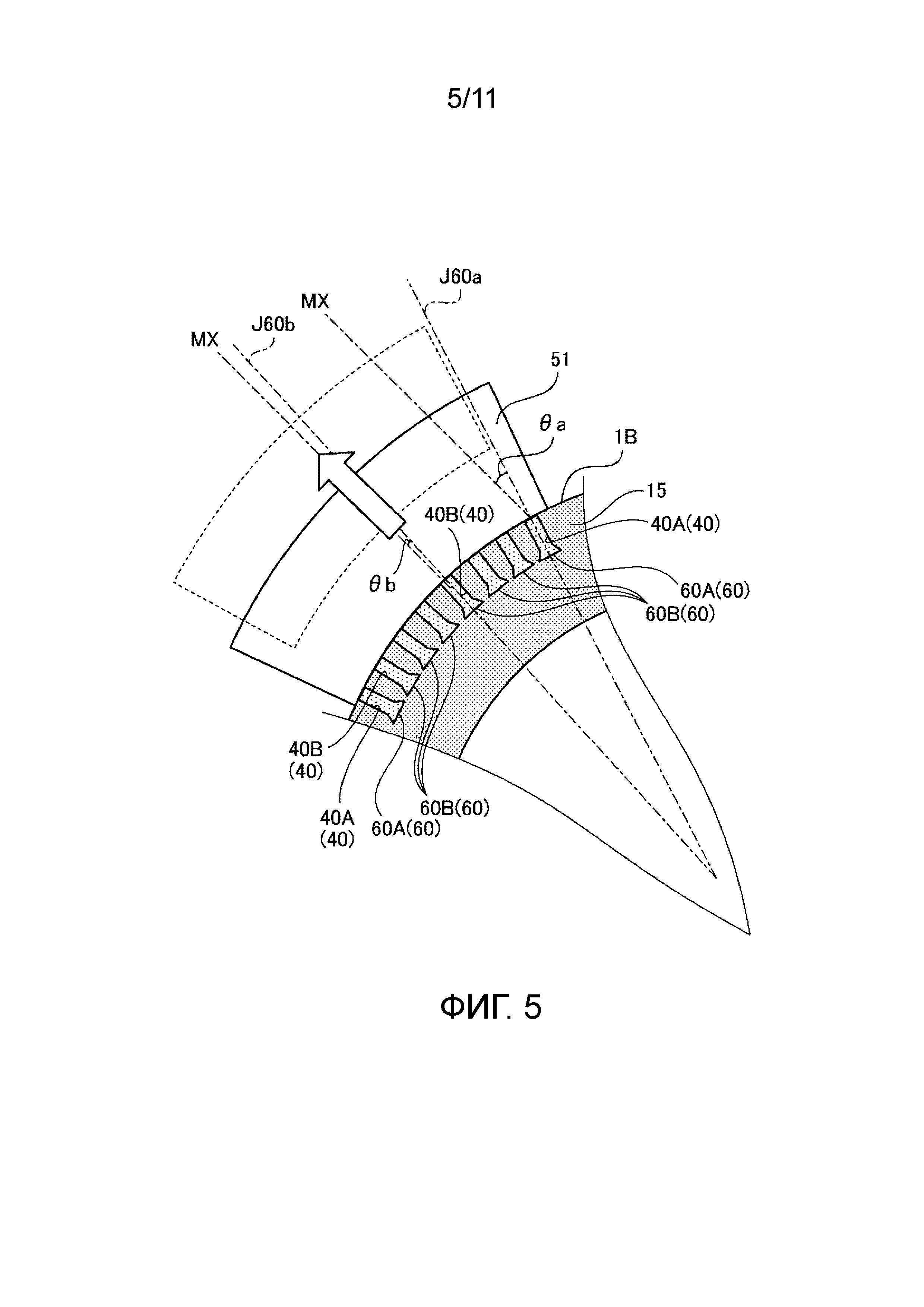 Пресс-форма для шин и пневматическая шина