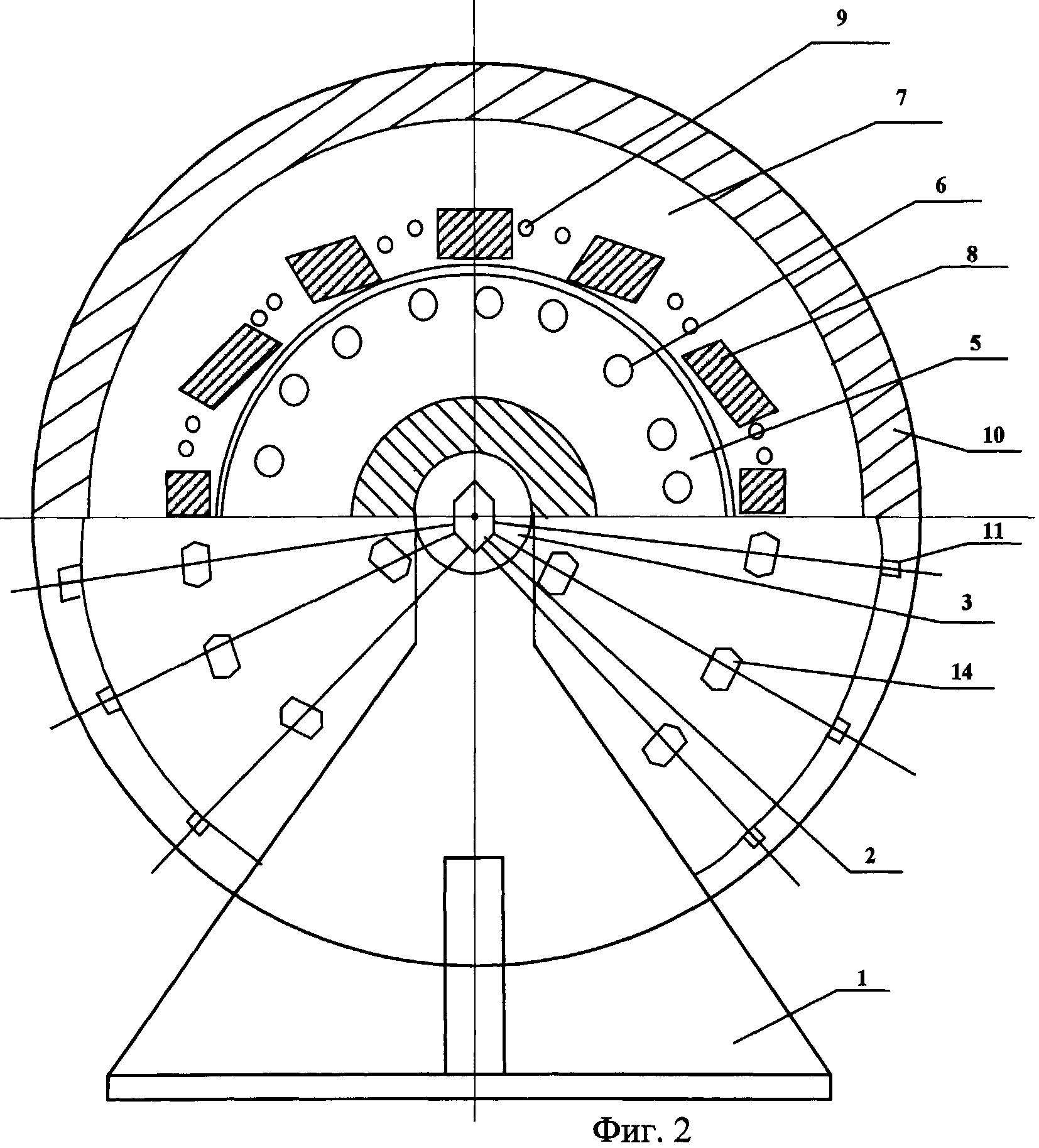 Электродвигатель рабочего органа перегрузочной машины системы прямого привода
