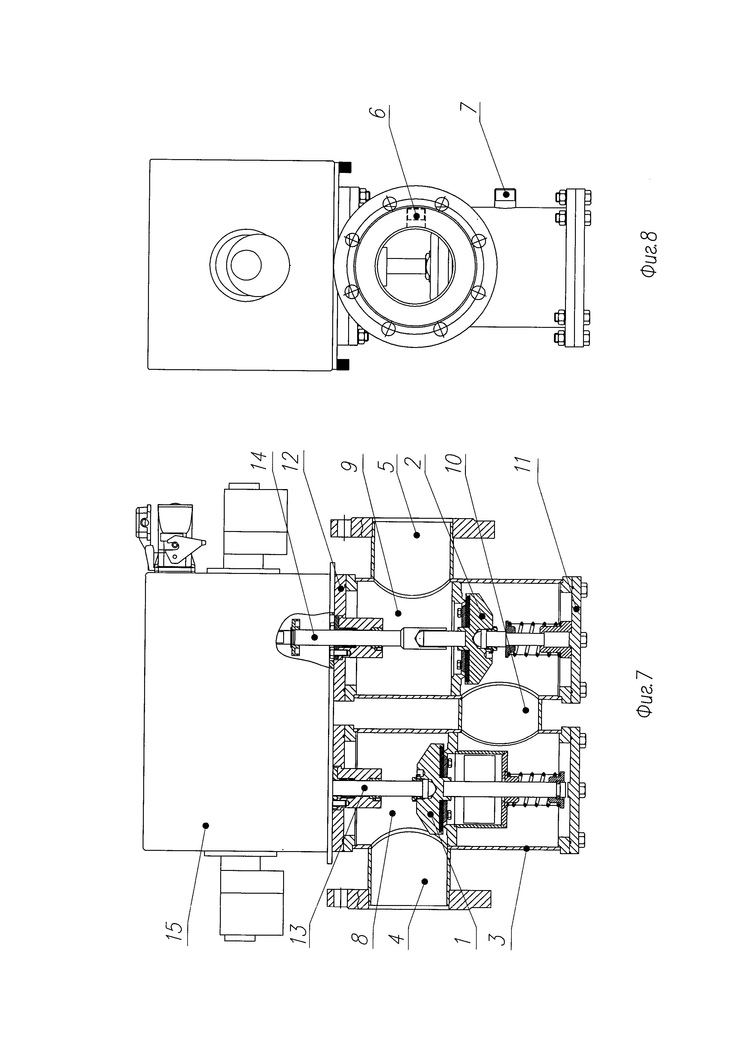 Привод автоматического газового запорного клапана