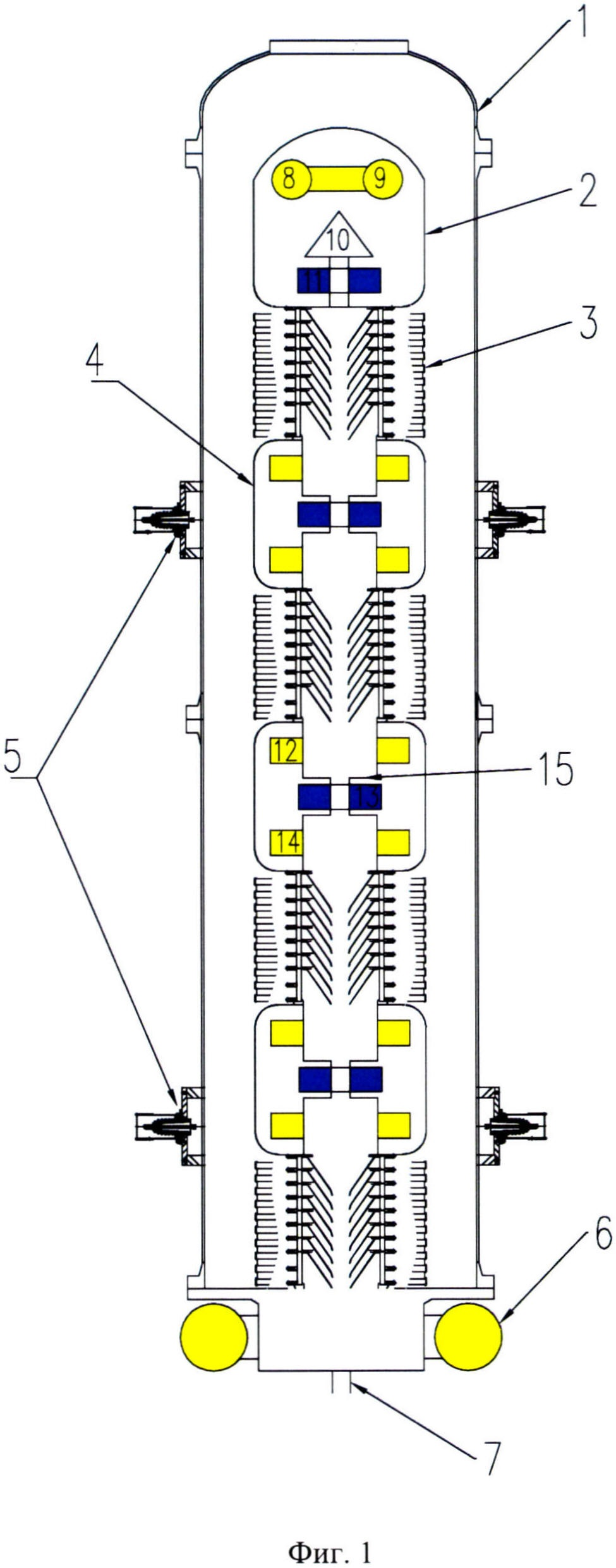 Электростатический ускоритель сильноточного высокоэнергетического пучка тяжёлых частиц