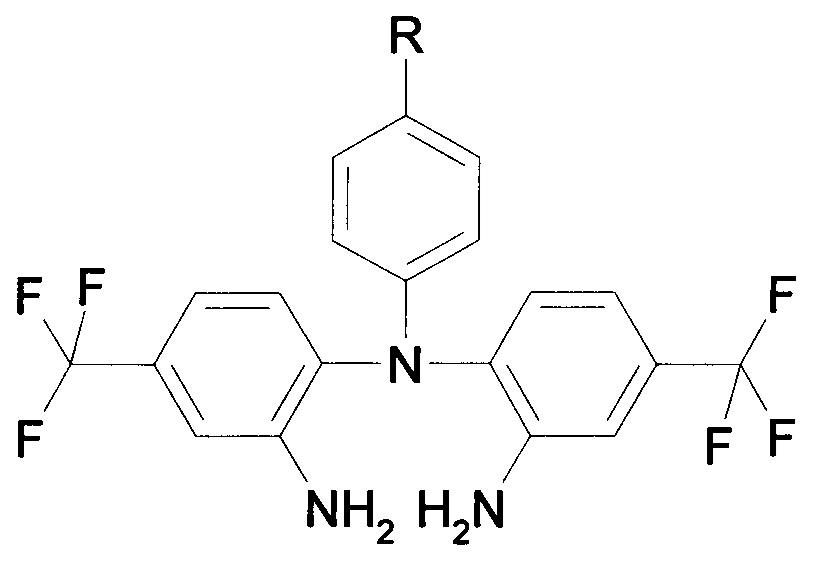 Способ получения N-[2-амино-4-(трифторметил)фенил]-N-фенил-4-(трифторметил)бензол-1,2-диамина и его производных