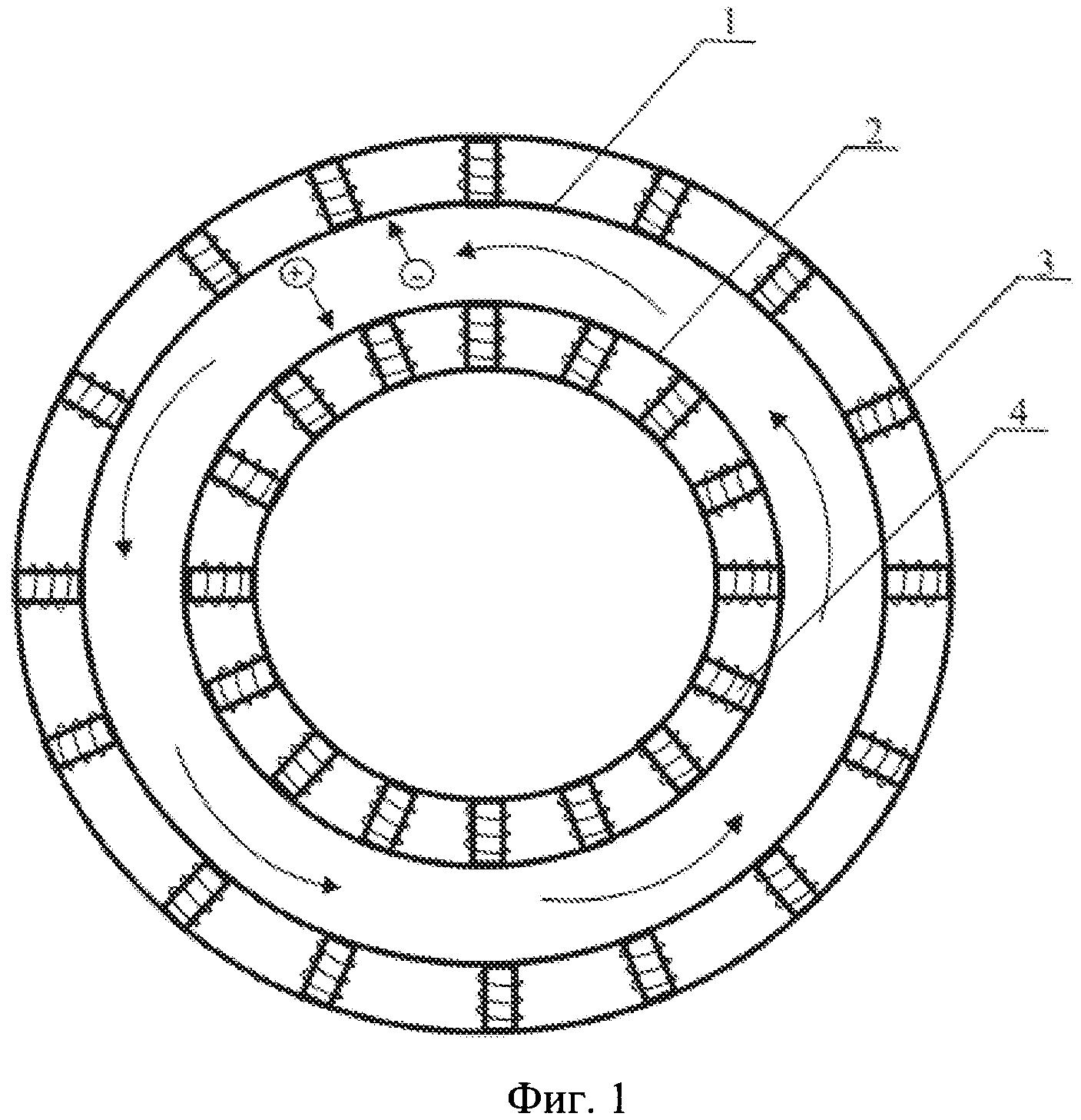 Магнитогидродинамический программно-управляемый шаговый двигатель для морских микродронов