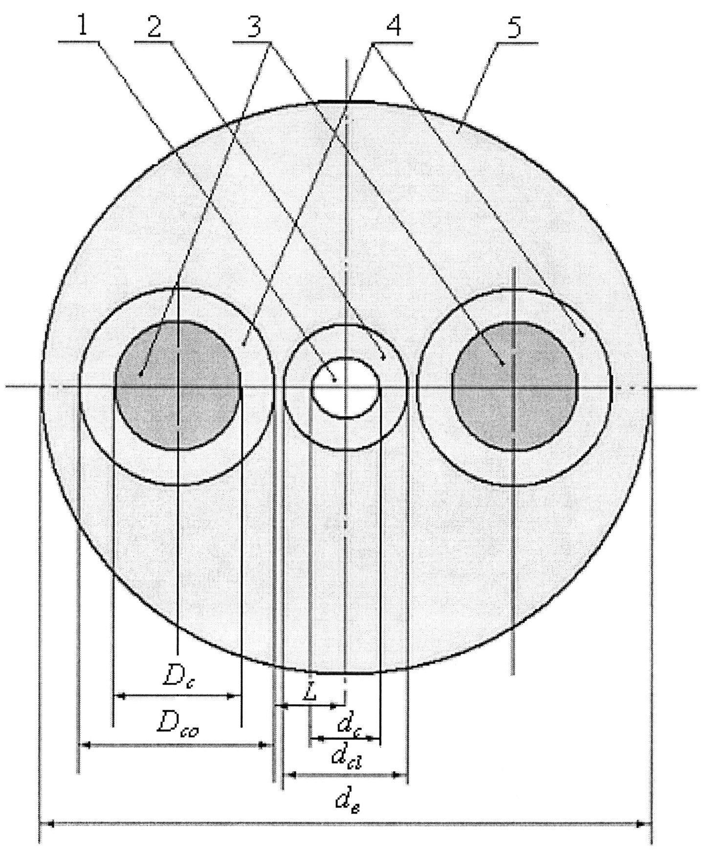 Одномодовый радиационно-стойкий сохраняющий поляризацию излучения световод