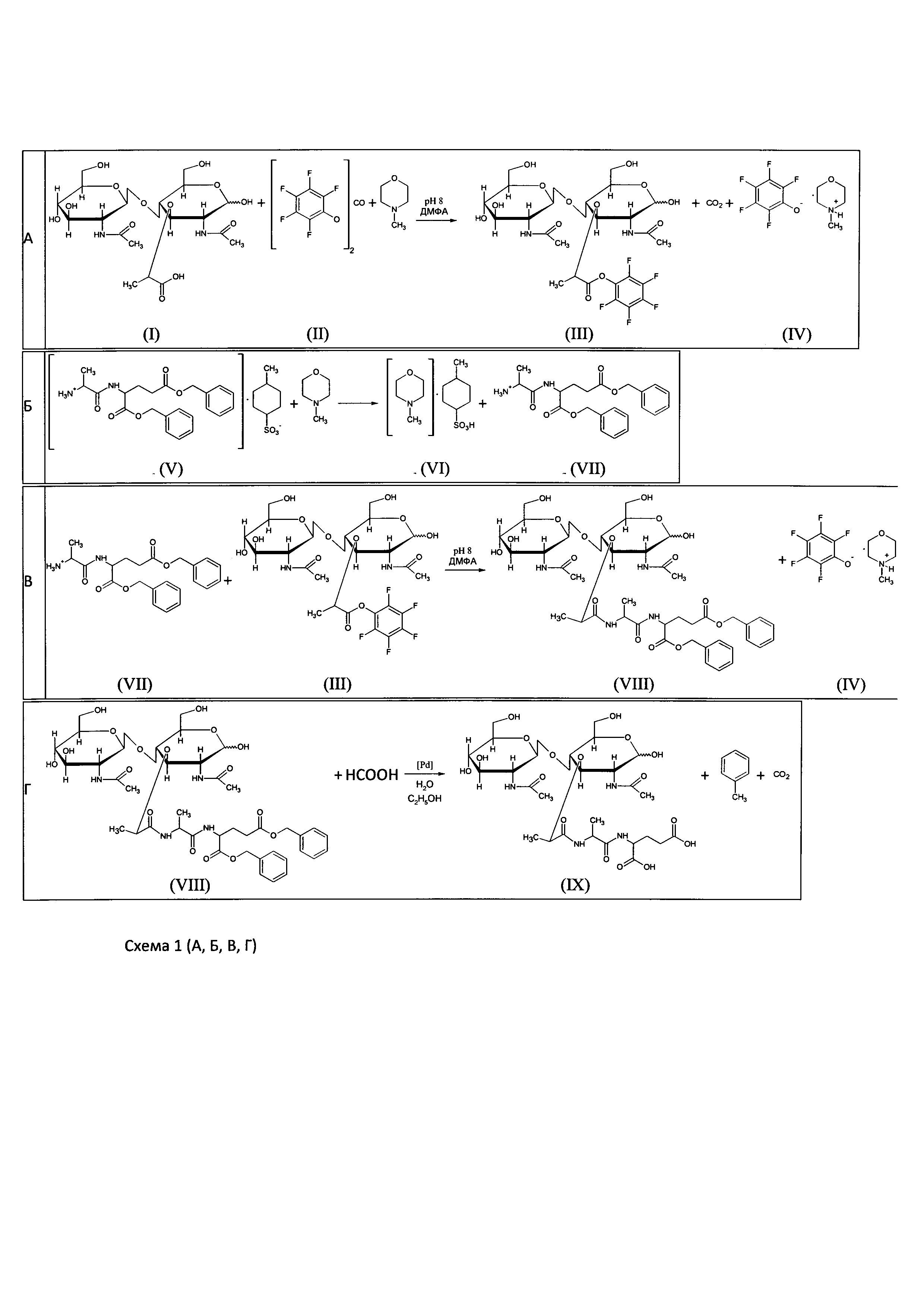 Способ получения n-ацетилглюкозаминил-n-ацетилмурамил-l-аланил-d-глутаминовой кислоты