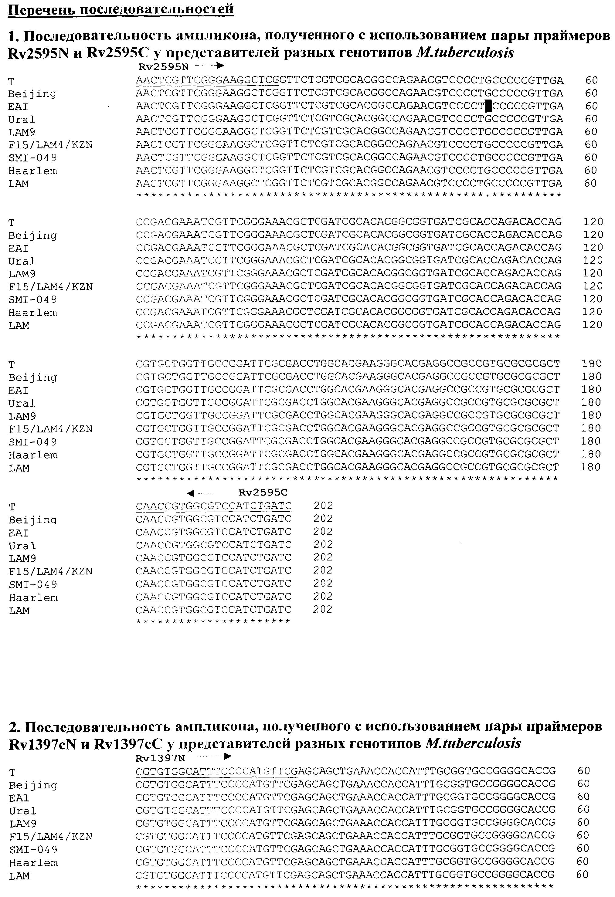 Способ генотипирования штаммов mycobacterium tuberculosis